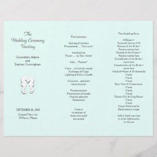 Trifold Wedding Program Template Tri Fold Wedding Programs