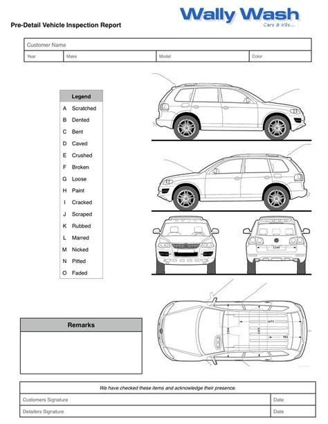 Truck Inspection form Template Image Result for Vehicle Damage Inspection form Template
