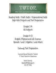 Tutoring Flyers Template Free 1000 Images About Tutoring On Pinterest