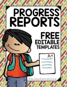 Tutoring Progress Report Template Daily Progress Report forms Kindergarten 6th Grade