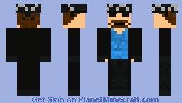 """Undertaker Minecraft Skin """"american Badass"""" Undertaker Minecraft Skin"""