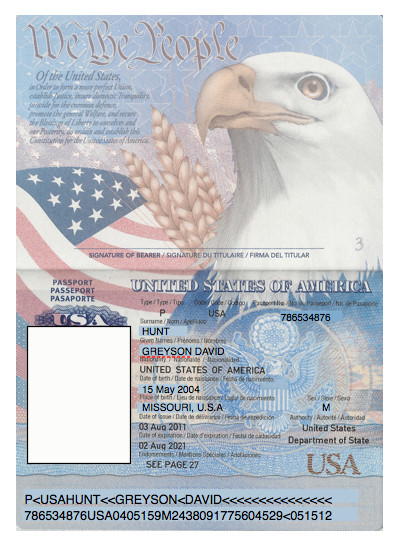Us Passport Photo Template Domesticated Nomad Spy Party Passports