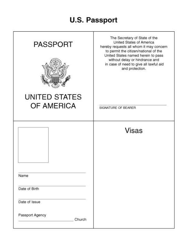 Us Passport Photo Template Passport for Kids Google Search … Kids