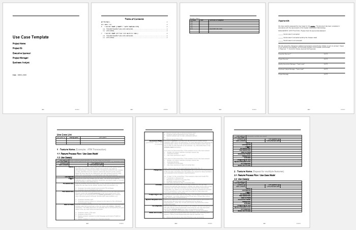 Use Case Templates Word Best Use Case Templates and Examples to Write Your Own Use