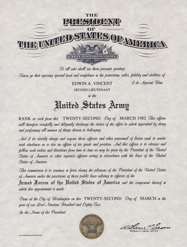 Usmc Promotion Warrant Template Ficer S Missing Certificate form Dd 1