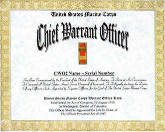 Usmc Promotion Warrant Template Marine Corps Warrant Ficer Promotion Display Recognition