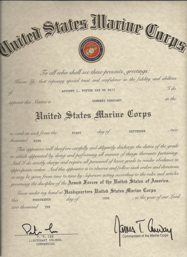 Usmc Promotion Warrant Template Promotion to Sergeant Quotes Quotesgram