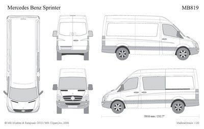 Vehicle Templates for Wraps