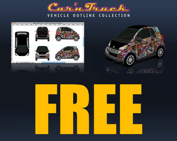 Vehicle Wrap Templates Free Downloads Vehicle Templates Vehicle Wraps