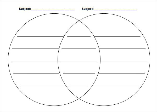 36 Venn Diagram Templates PDF DOC XlS PPT