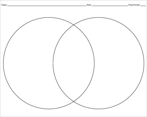 Venn Diagram In Word Creating A Venn Diagram Template
