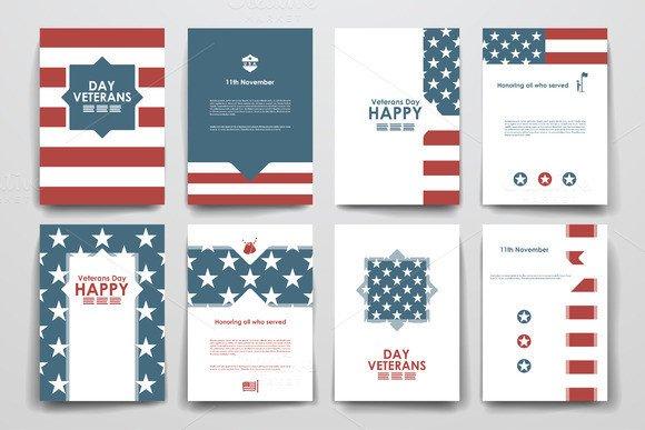 Veterans Day Program Template Veterans Day Program Flyer Templates Free Designtube