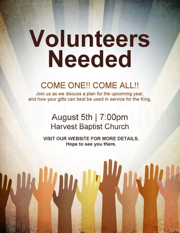 17 Best ideas about Volunteers Needed on Pinterest