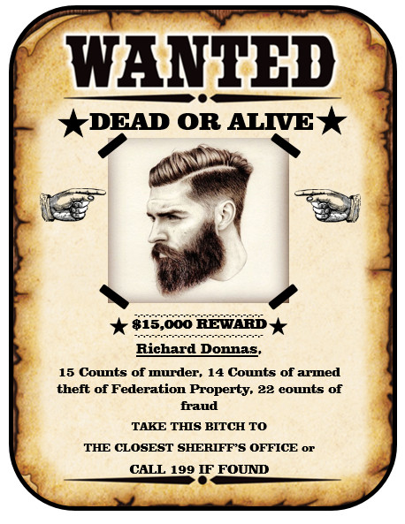 Wanted Poster Template Free 13 Free Wanted Poster Templates Printable Docs
