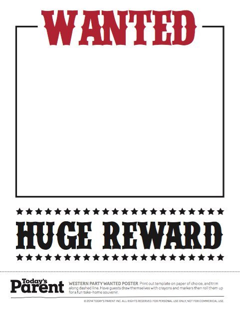 Wanted Poster Template Free Printable 18 Free Wanted Poster Templates Fbi and Old West Free