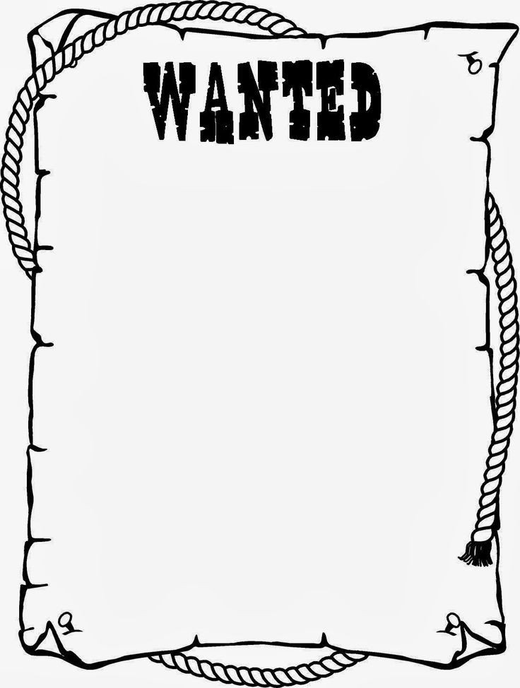 Wanted Poster Template Free Printable Wanted Poster Template for Kids Ctzobx5z
