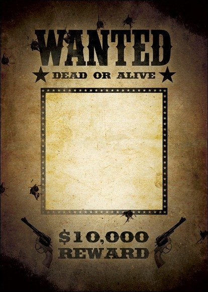 Wanted Poster Template Microsoft Word 10 Great Wanted Poster Template Collection