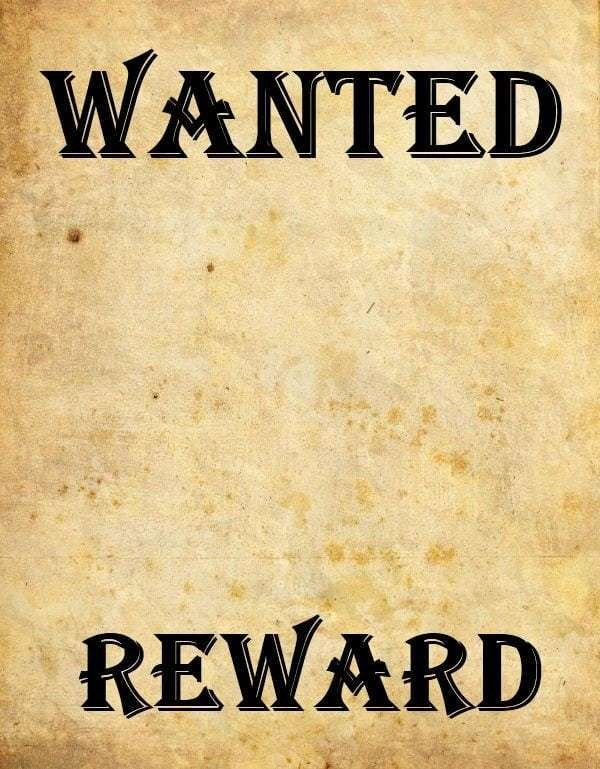 Wanted Poster Template Microsoft Word 9 Wanted Poster Templates Word Excel Pdf formats