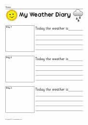 Weather Journal Template 1000 Images About Weather topic On Pinterest