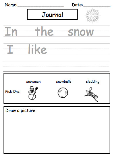 Weather Journal Template Science Unit On Weather Easy Weather Journal Template