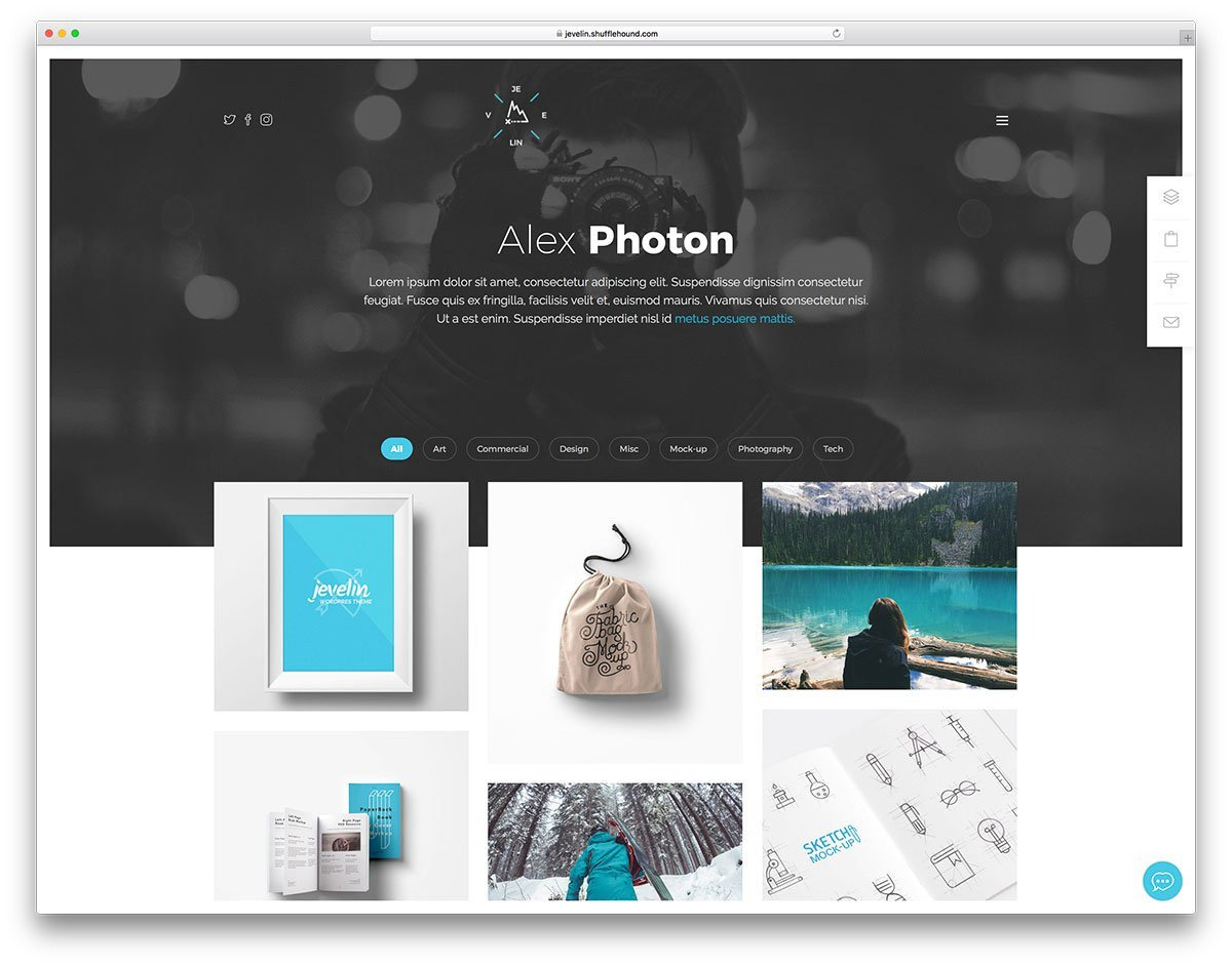 Web Developer Portfolio Templates 29 Best Portfolio Website Templates [html & Wordpress