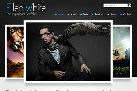 Web Template for Photographer 50 Fresh Free HTML5 and Css3 Website Templates