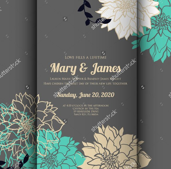 Wedding Card Template Free Download 59 Wedding Card Templates Psd Ai