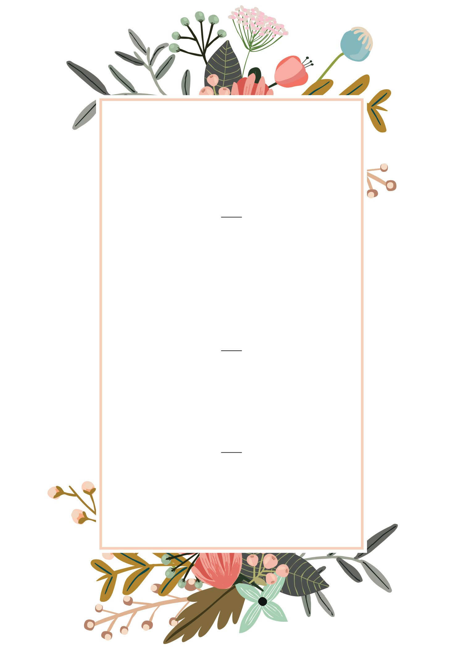 Wedding Card Template Free Download Editable Wedding Invitation Templates for the Perfect Card