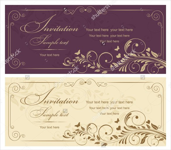 Wedding Card Template Free Download Wedding Card Template – 91 Free Printable Word Pdf Psd