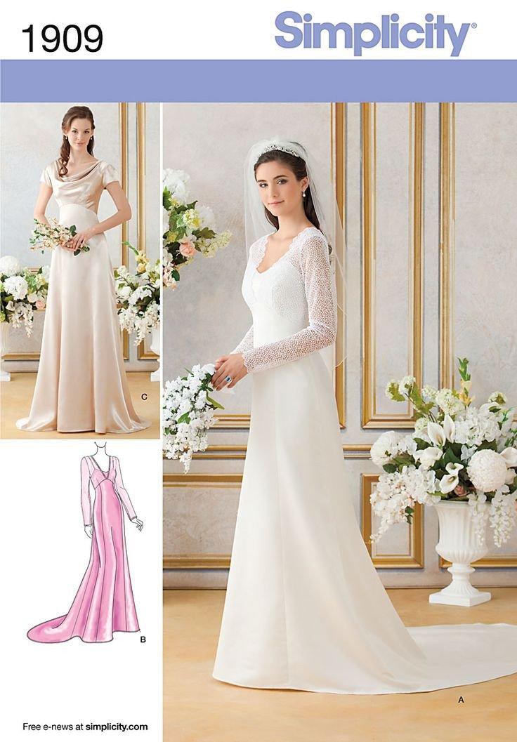 Wedding Dress Patterns Free Best 25 Wedding Dress Sewing Patterns Ideas On Pinterest