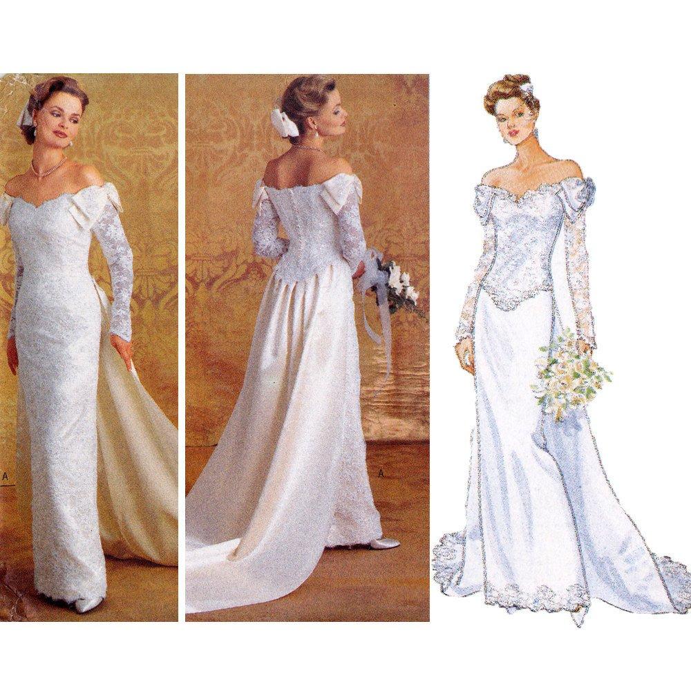 Wedding Dress Patterns Free Bridal Gown Sewing Pattern Wedding Dress Pattern butterick