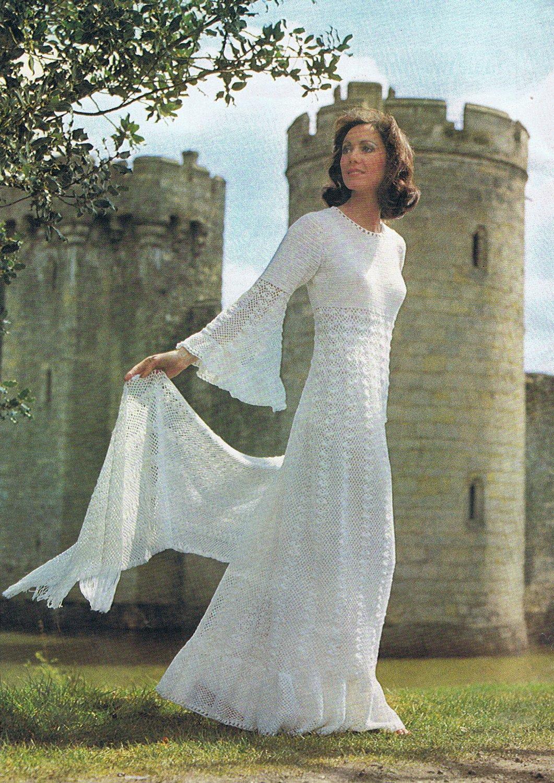 Wedding Dress Patterns Free Enchanting Wedding Dress Crochet Pattern Vintage Pattern Pdf