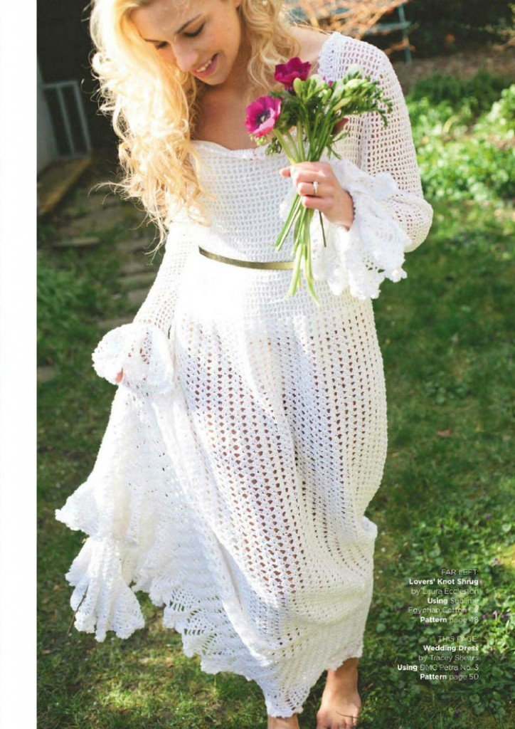 Wedding Dress Patterns Free Free Crochet Wedding Dress Pattern Archives ⋆ Crochet