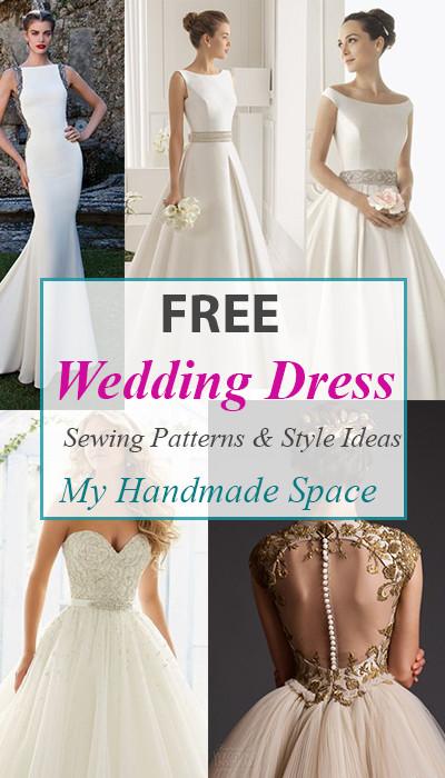 Wedding Dress Patterns Free Free Wedding Dress Sewing Patterns