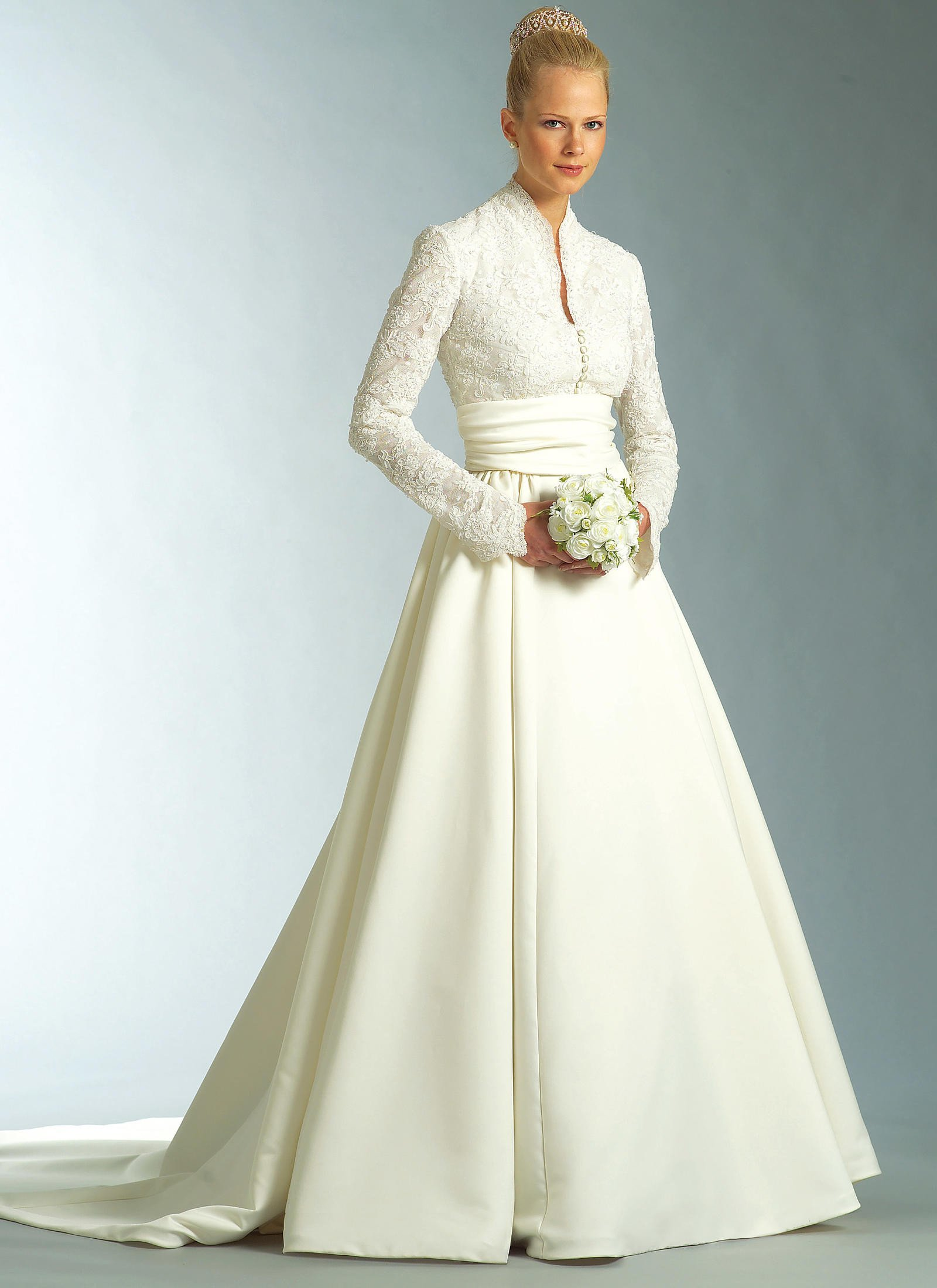 Wedding Dress Patterns Free Links to Over Twenty In Print Bridal Gown Sewing Patterns