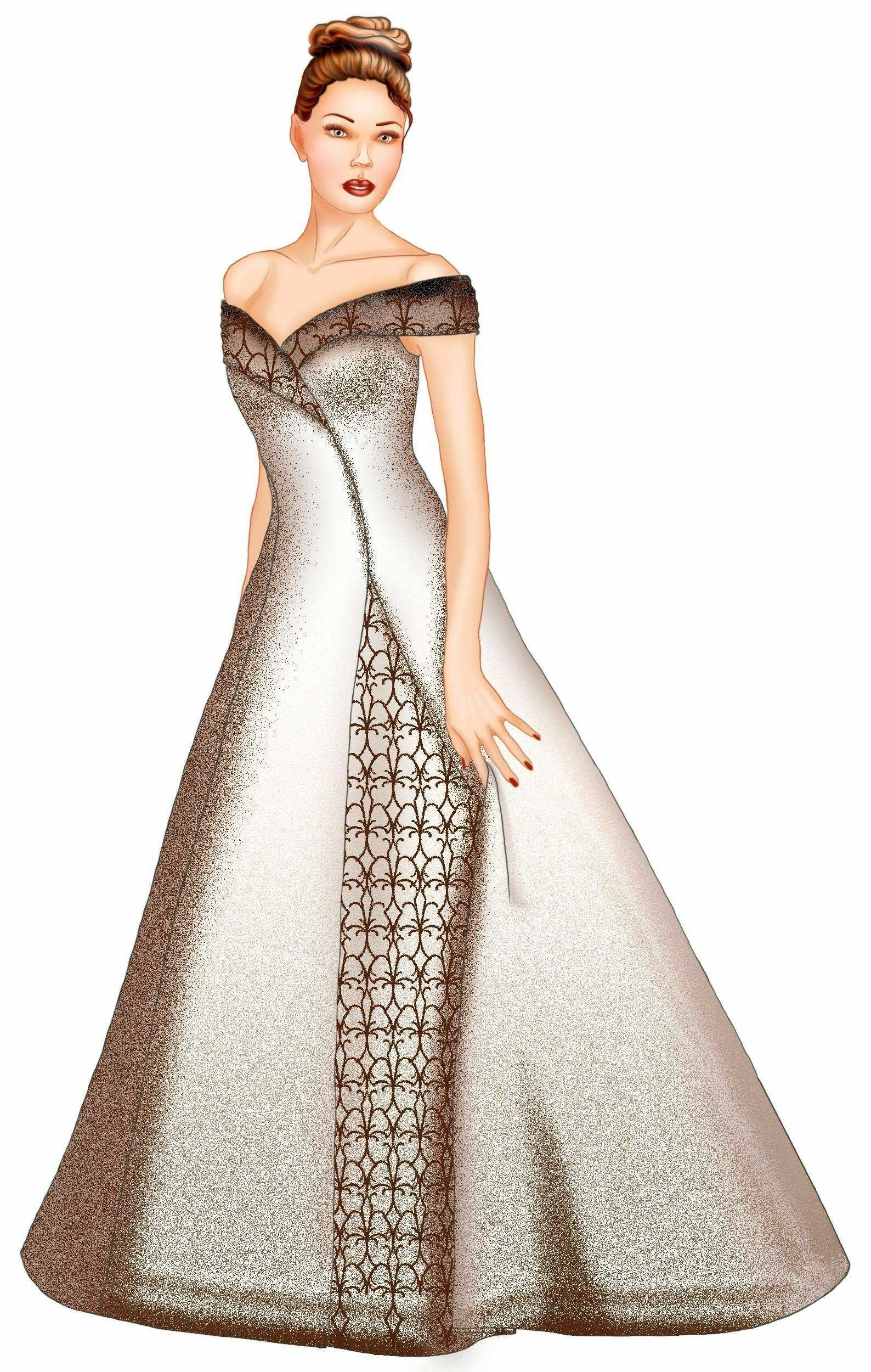 Wedding Dress Patterns Free Wedding Dress Sewing Pattern 5530 Made to Measure