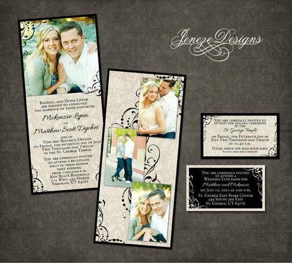 Wedding Invitation Template graphers and shop