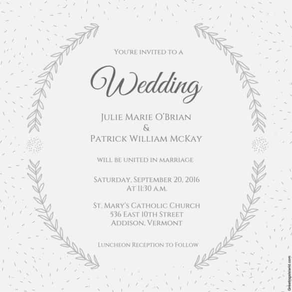 85 Wedding Invitation Templates PSD AI