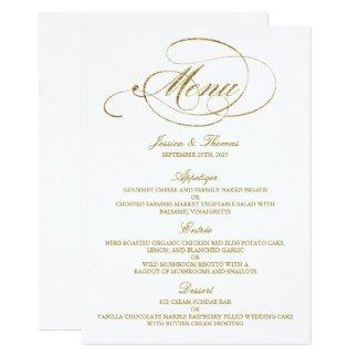 Wedding Menu Card Templates Wedding Menu Cards