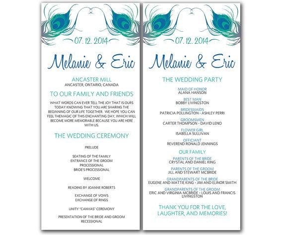 Wedding Program Template Microsoft Word Wedding Program Template Word