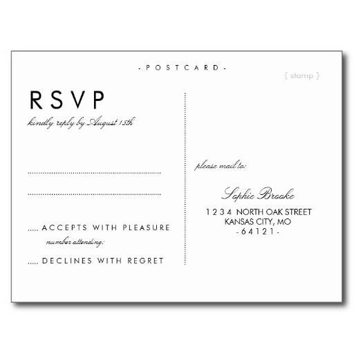 Wedding Rsvp Cards Template Best 25 Wedding Postcard Ideas On Pinterest