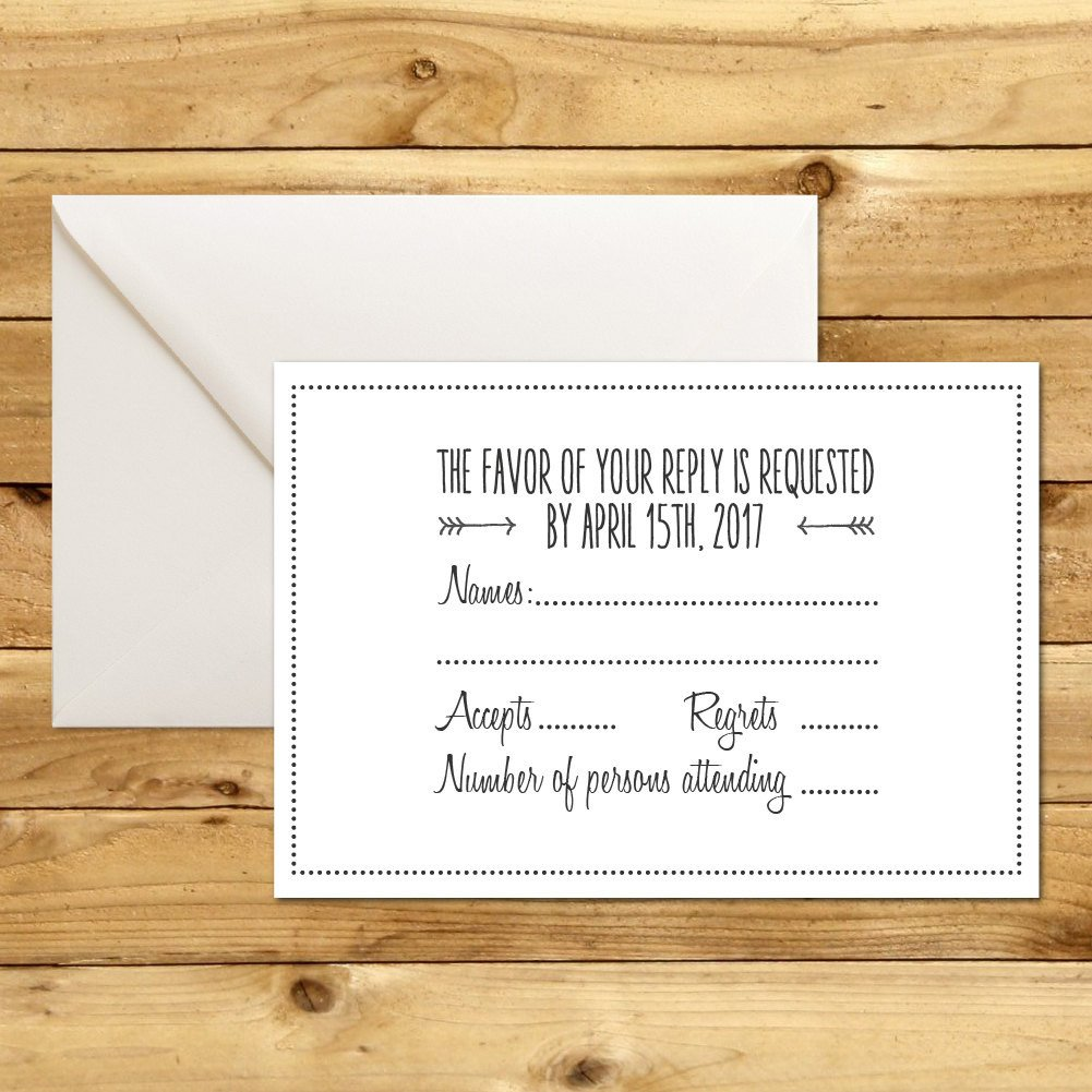 Wedding Rsvp Cards Templates Rsvp Diy Wedding Template Rsvp Template Rustic Wedding