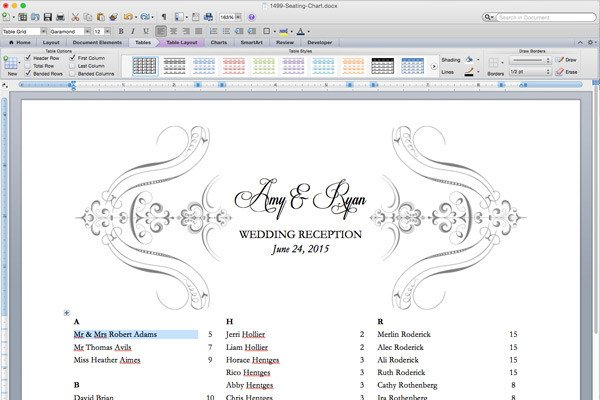 Wedding Seating Chart Template Free Printable Wedding Reception Templates