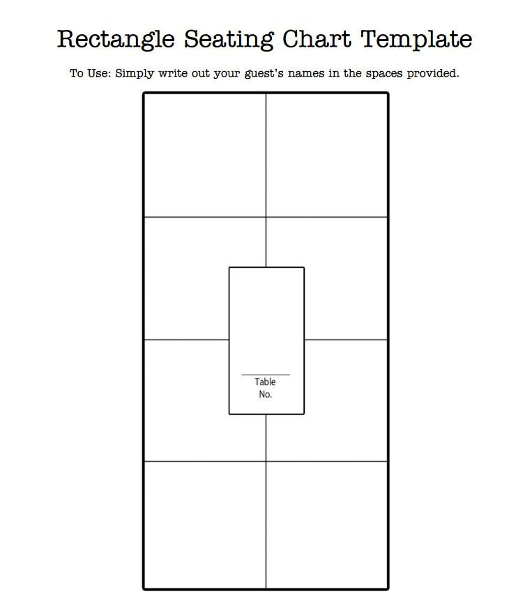 Wedding Seating Chart Template Free Wedding Seating Chart Templates You Can Customize
