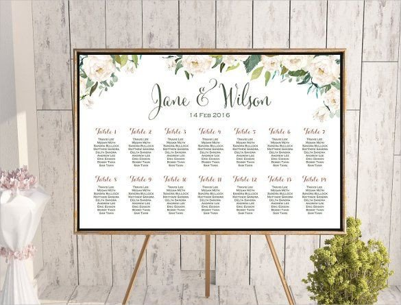 Wedding Seating Chart Template Wedding Seating Chart Template Odds N Ends