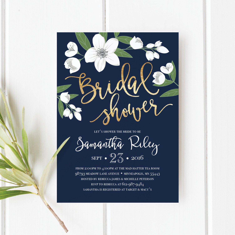 Wedding Shower Invitation Templates Printable Bridal Shower Invitation Template Wedding Shower