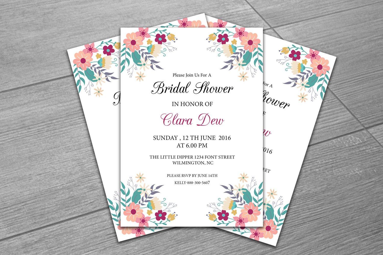 Wedding Shower Invitation Templates Sale Bridal Shower Invitation Template Diy Wedding Shower