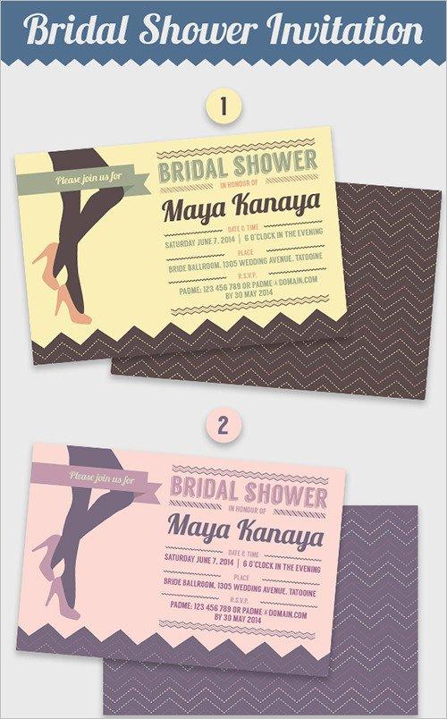 Wedding Shower Invite Template 33 Psd Bridal Shower Invitations Templates