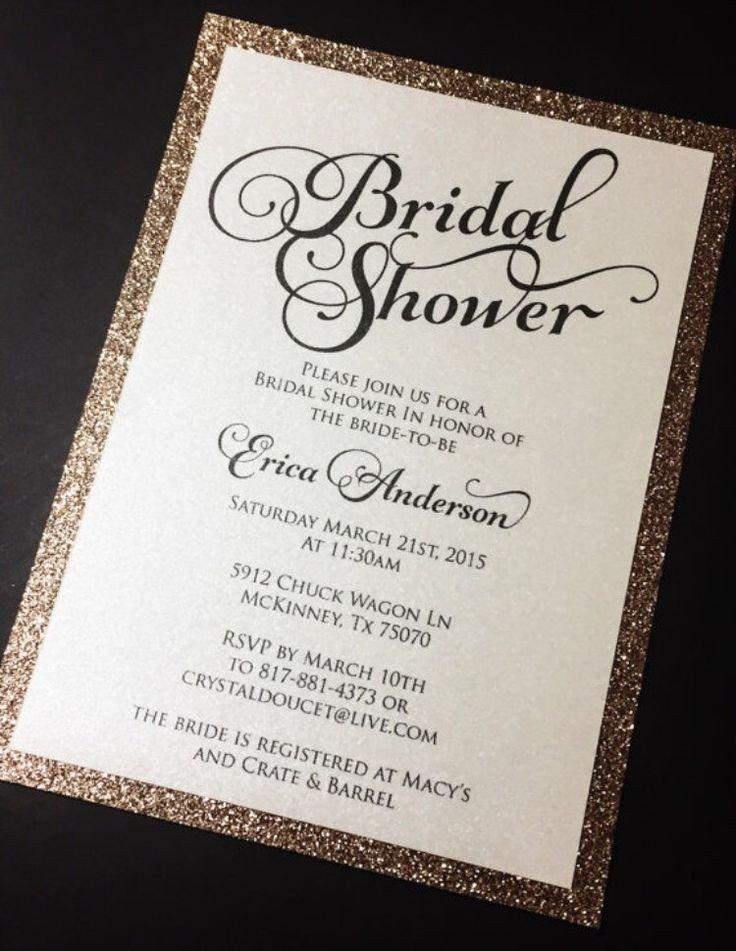 Wedding Shower Invite Templates Best 20 Bridal Shower Invitation Wording Ideas On