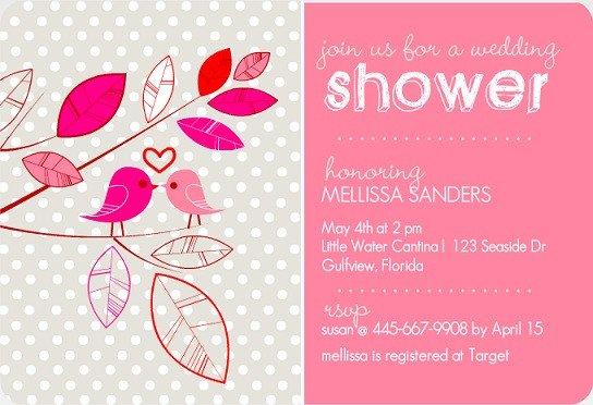 Wedding Shower Invite Templates Bridal Shower Invitation Wording Ideas From Purpletrail